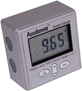 AccuRemote Digital Electronic Magnetic Angle Gage Level/Protractor/Bevel Gauge