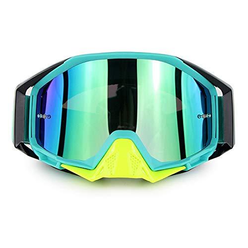 Lunettes de Ski de Snowboard Protection UV Anti-buée Lunettes de Ski de Snowboard Ventilation améliorée Coupe-Vent pour Homme,Femmes,Compatible avec Le Casque Lunettes de Neige,D