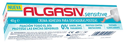 ALGASIV crema fijadora para prótesis dental tubo 40 gr