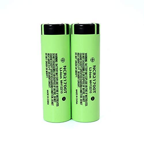 2 PCS 21700T 3,7 V 4800 mAh batería de litio 15A potencia 5C baterías de litio de descarga de velocidad DIY paquete de batería de coche eléctrico