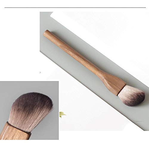 Lose Puderbürste Flammenrötungsbürste Superweiche Haarschneidebürste Grundierungsbürste Make-Up-Bürste, Fasen-Trimmbürste
