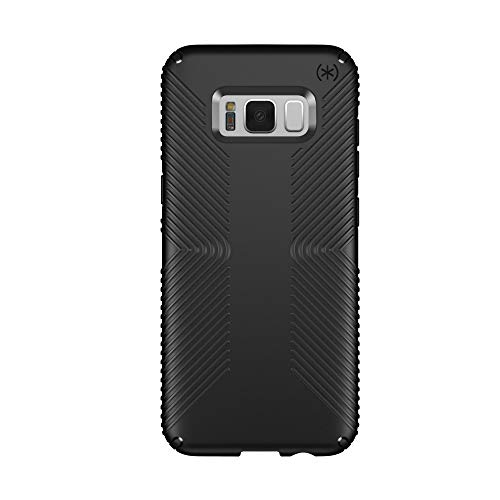 Speck Products Presidio Grip Cell Phone Case for Samsung Galaxy S8 - Black/Black