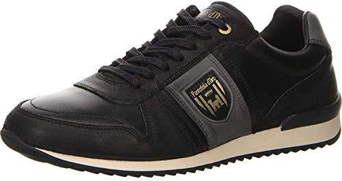 Pantofola d'Oro Herren UMITO Uomo Low Sneaker, Schwarz (Black .25y), 45 EU
