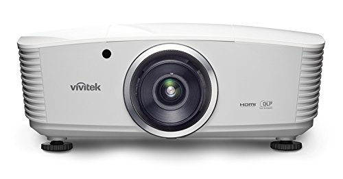 Vivitek D5110W-WNL Video - Proyector (5000 lúmenes ANSI, DLP, WXGA (1280x800), 2000:1, 16:10, 863,6 - 5080 mm (34 - 200