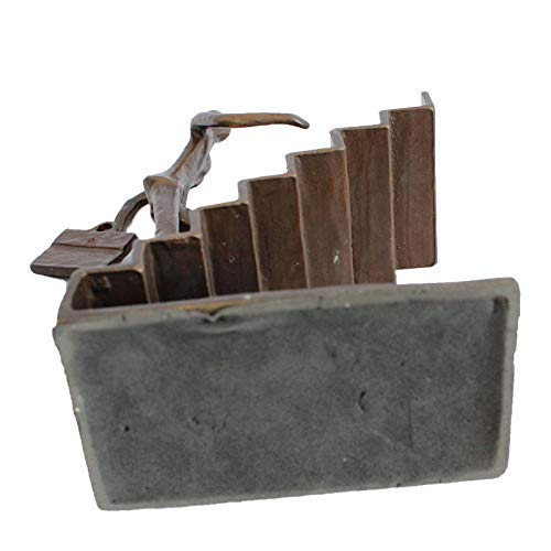 Buchstütze Treppe standfuß
