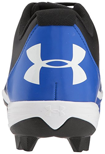 Under Armour Men's Leadoff Low RM Baseball Shoe, Black (001)/Team Royal, 10