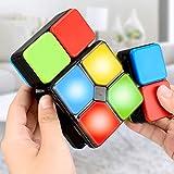 XWEM Cubo Juego Puzzle, Magic Cube Toys Games Juegos De Puzzle para Niños Rotating Cube Música Electrónica Cube Toys Gadgets para Niños