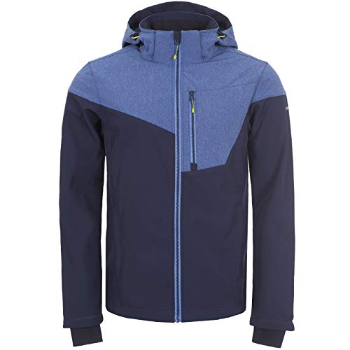 Icepeak Herren BENDON Softshell Jacke, blau, 54