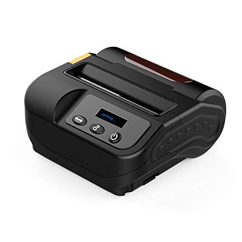 ZUKN 0.96 « Mini Portable Étiquette Imprimante Thermique 80MM Réception Étiquette Autocollant sans Fil Bluetooth Accusé De Réception Imprimante Mobile Prenant en Charge ESC/POS/TSPL Commande