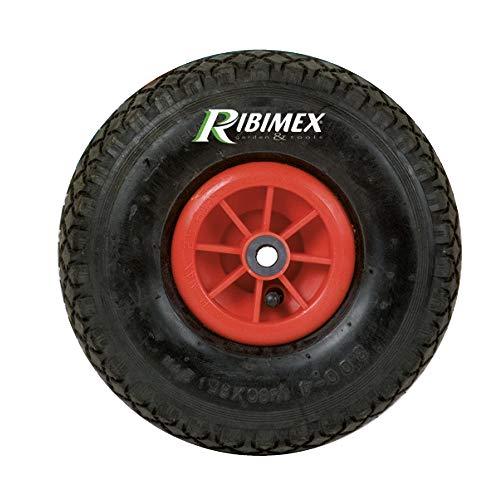 Ribimex RUOTA RUOTE GONFIABILE PER CARRELLO CUSCINETTO Ø 260 mm