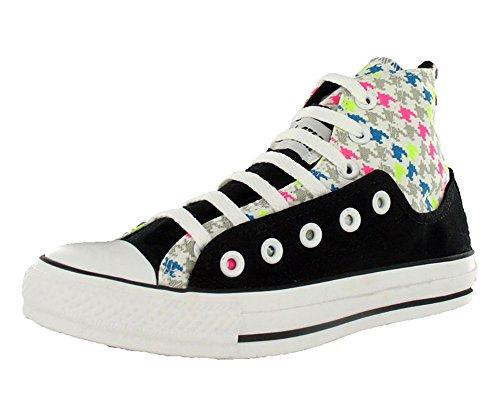 Converse All Star Chuck Taylor Layer Up Hi Unisex Shoes Size US 8, Regular (D, M) Width, Color Black/Multicolour/Neon