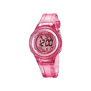 Calypso–Reloj Digital de Mujer con Esfera Rosa Pantalla Digital y