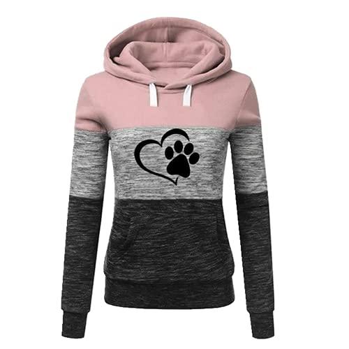 Damska bluza, różowy, L