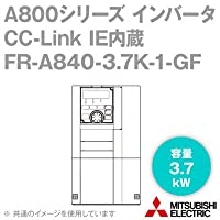 三菱電機(MITSUBISHI) FR-A840-3.7K-1-GF CC-Link IE内蔵インバータ 三相400V (容量:3.7kW) (FMタイプ) NN