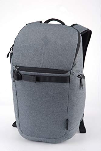 Nitro Nikuro Daypack Alltagsrucksack Schulrucksack Sportrucksack Wasserabweisende Reissverschlüsse Laptopfach, Black Noise, 26 L