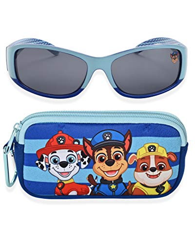 Nickelodeon Paw Patrol Kids Sunglasses with Glasses Case and UV Protection (Paw Patrol 3)