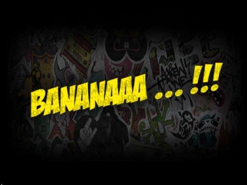 2x Banana!!! Minion JDM (FARBWAHL) FUN 16 x 2,5 cm Sticker Ken Block AUFKLEBER Energy Ungeheuer Kralle Claw Auto Tuning Styling Motorrad