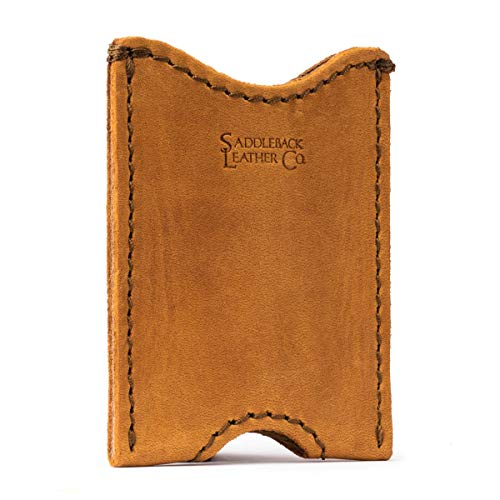 Best Wallets for Men: Saddleback Leather Card Sleeve Wallet