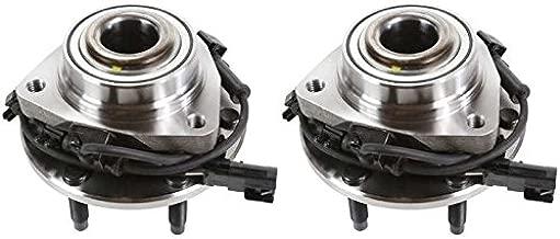 Prime Choice Auto Parts HB613190PR Front Pair 2 Wheel Hub Bearing Assemblies 6 Stud