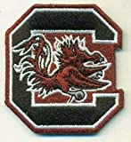 Yibuoo South Carolina Gamecocks Embroidered Patch Iron on Logo Vest Jacket Cap Hoodie Backpack Patch Iron On/sew on Patch