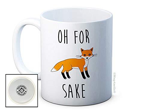 Oh pour Fox saké – Haute Qualité Mug de café ou de thé en céramique