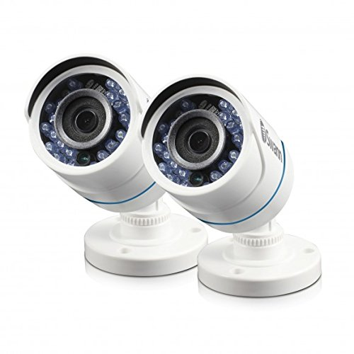 Swann SRPRO-T850WB2-US 720A 2 Pack Add-Ons Bullet Camera, White
