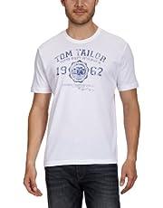 TOM TAILOR Herren Casual Logo T-Shirt
