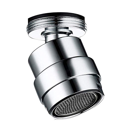 Conveniencia 360 grados de ahorro de agua del grifo giratorio, cuarto de baño, grifo de la cocina bidé, filtro accesorios Garantizar (Color : 24mm Male)