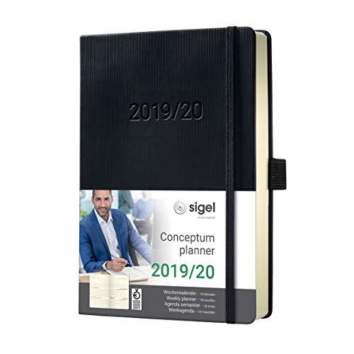 SIGEL C2001 Agenda semanal 2019 / 2020, Conceptum, 18 meses,...