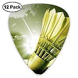 Badminton Classic Guitar Pick Player's Pack for Electric Guitar,Acoustic Guitar,Mandolin,Guitar Bass