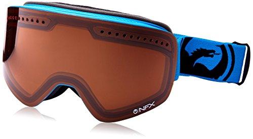 Dragon Alliance NFX Ski Goggles, Amber/Blue