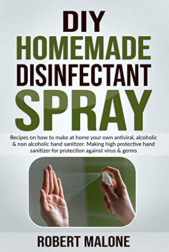 DIY HOMEMADE DISINFECTANT SPRAY:...