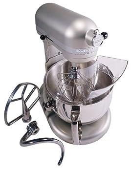 Kitchenaid Professional 600 Stand Mixer 6 quart Nickel Pearl  Renewed