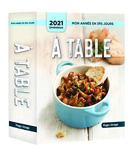 Mon année 2021 - A table