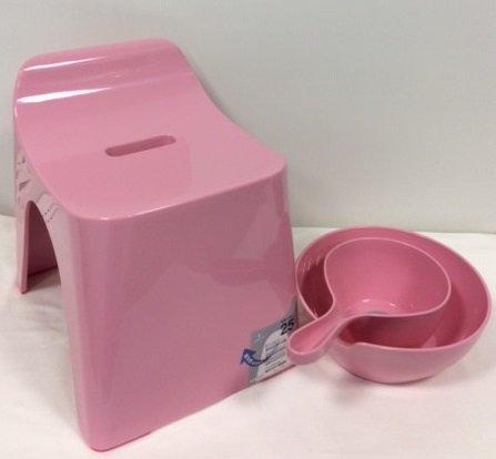 シンカテック ヒューバス h25 お風呂3点セット ピンク