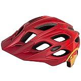 Endura Hummvee - Casco para bicicleta de montaña (tamaño grande), color rojo