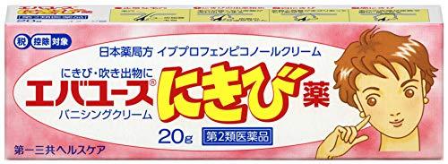 【第2類医薬品】エバユースにきび薬20g※セルフメディケーション税制対象商品