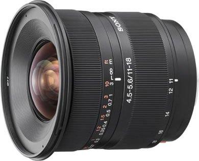 ソニー『DT11-18mmF4.5-5.6(SAL1118)』