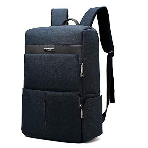 WZNB Laptoptas, 39,6 cm (15,6 inch), waterafstotend, grote capaciteit, rugzak voor studenten, studenten, 19 inch