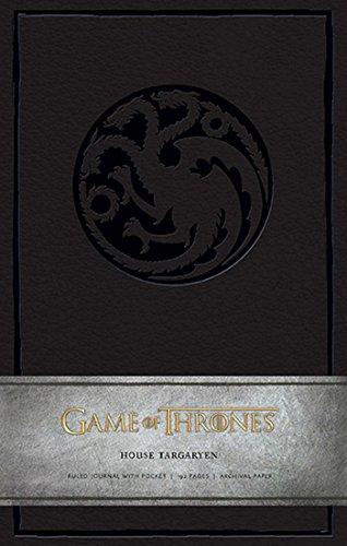 Game of Thrones - House Targaryen Large Ruled Journal