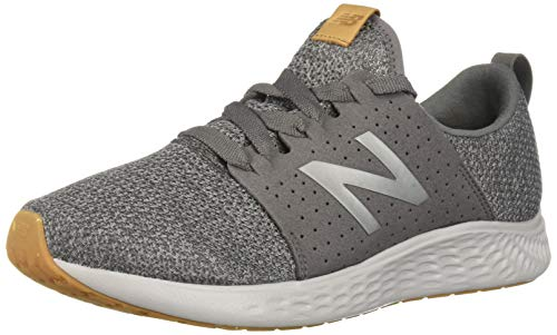 New Balance Men's Fresh Foam Sport V1 Running Shoe, Castlerock/Team Away Grey, 8.5 M US