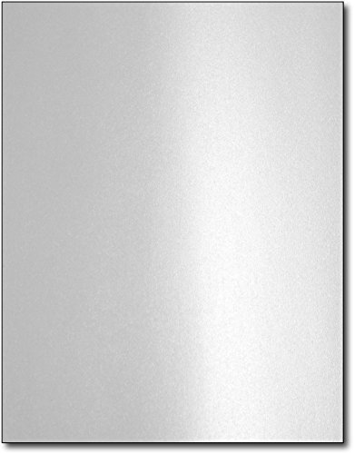 Silver Metallic Paper for Laser Printers (40 Sheets)