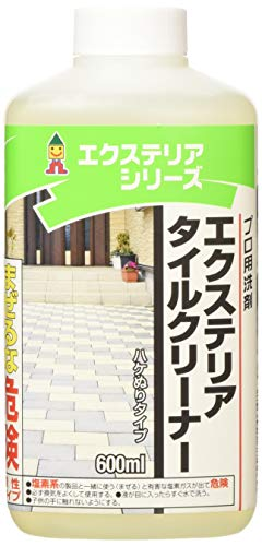 日本ミラコン産業 屋外の洗浄 エクステリア・タイルクリーナー 600ml EXT-04