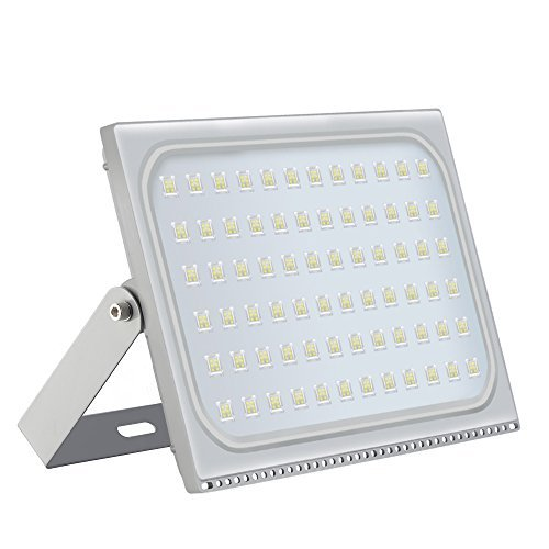 500W Led Flood Light, Missbee Thinner Lighter Outdoor Security Light, 55000Lm, Cold White...