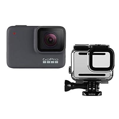 GoPro Camera -CHDCB-706 HERO7 Silver + Protective Housing from GoPro Camera