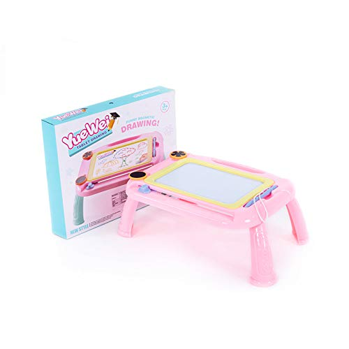 XCH Color Magna Doodle Writing Drawing Pad for Toddlers Kids Magnetic Drawing Board Birthday Gifts Girl Boy Learning Toy Pink