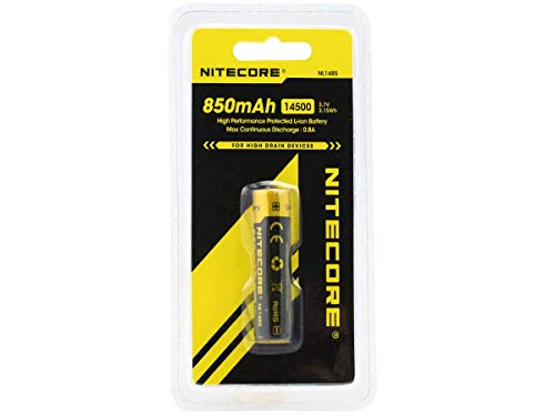 NL1485 High Performance 14500 Li-ion Rechargeable Battery with Phone Grip