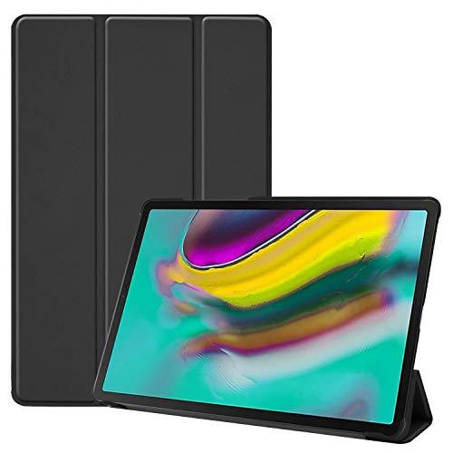 Slabo Tablet Hülle Hülle für Samsung Galaxy Tab S5e 10.5 Zoll T720   T725 (2019) Schutzhülle mit Auto Sleep Wake & Magnetverschluss - SCHWARZ