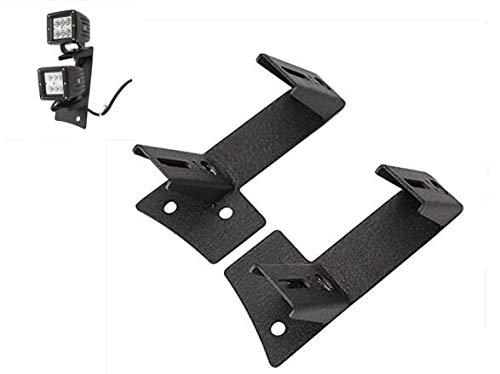 SXMA A pair of steel Jeep Wrangler Foot Pegs Black 2007-2015
