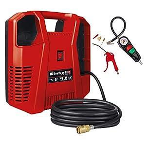 41XH95CWBQL. SS300  - Compresor Einhell TH-AC 190 Kit (1.100W, potencia de extracción: 190 l/min, presión de trabajo máxima: 8bar)